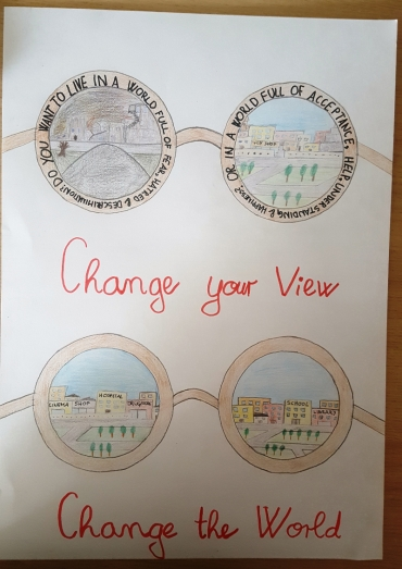 <h5>Change your view, change your world</h5><p>Change your view, change your world  /  Hana Mrak  /  Ivan Cankar Primary School  /  Vrhnika, Slovenia </p>
