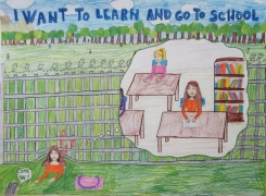 <h5>I want to learn and go to school</h5><p>I want to learn and go to school  /  Milica Dolinaj  /  Boško Palkovljević Pinki Primary School  /  Sremska Mitrovica, Serbia </p>