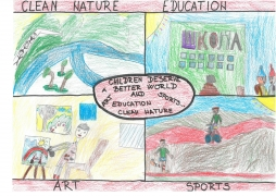 <h5>Children deserve a better world</h5><p>Children deserve a better world  /  Prolonged stay (second classes)  /  Kosta Trifković Primary School  /  Novi Sad, Serbia </p>