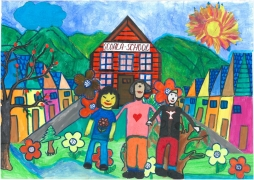 <h5>Education, weapon for peace</h5><p>Education, weapon for peace  /  Claudia-Maria Corbu, Antonia Nicola Kovaci  /  Scoala Gimnaziala School  /  Palanca, Bacau county, Romania </p>