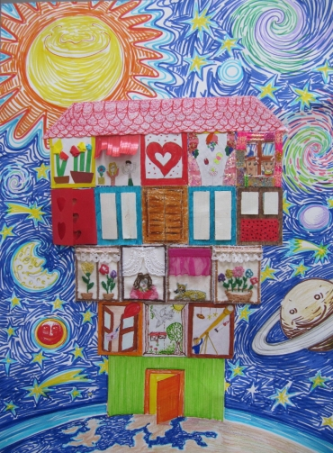 <h5>House of hearts</h5><p>House of hearts  /  Students from first to eight grade  /  Jelena Majstorović School   /  Zaječar, Serbia </p>